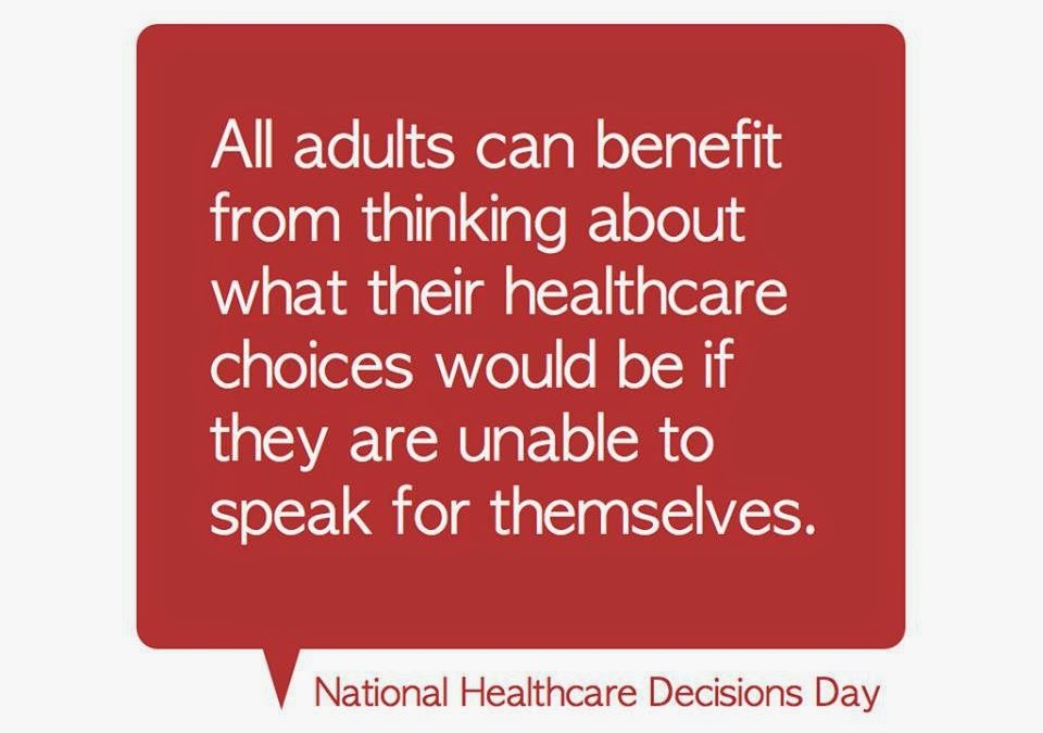 National Healthcare Decisions Day 2015